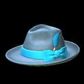 Homburg topper icon sky blue