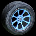 Octavian wheel icon cobalt