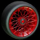Yamane wheel icon crimson