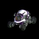 Scarab body icon purple
