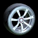 Septem wheel icon black