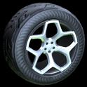 Spyder wheel icon grey