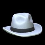 White Hat topper icon