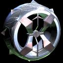 Blender wheel icon titanium white