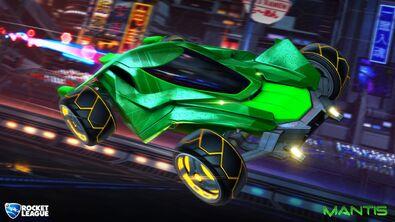 Mantis hero art