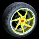 Quimby wheel icon saffron