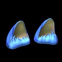 Wildcat ears topper icon cobalt