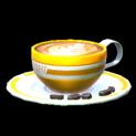 Latte topper icon orange
