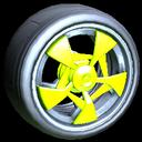 Masato wheel icon lime