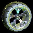 Wrench-Roller wheel icon saffron