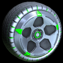 Diomedes wheel icon forest green