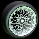 Yamane wheel icon titanium white