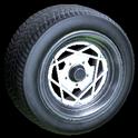 Falco wheel icon titanium white