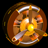 Propeller Inverted wheel icon