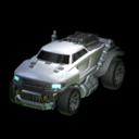 Road Hog body icon grey