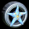 Asterias wheel icon cobalt