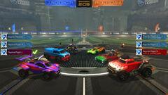 Tournaments pre-match lobby