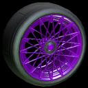 Yamane wheel icon purple