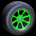Octavian wheel icon forest green