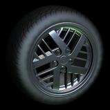 Fast & Furious Pontiac Fiero wheel icon black