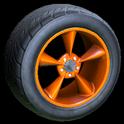 Stern wheel icon orange