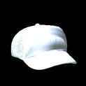 Trucker hat topper icon titanium white
