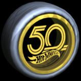 Hot Wheels 50th wheel icon