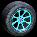 Octavian wheel icon sky blue