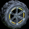 Trahere wheel icon orange