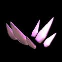 Stegosaur topper icon pink
