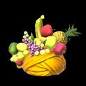 Fruit hat topper icon orange
