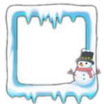 Snowman avatar border icon.png