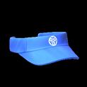 Visor topper icon cobalt