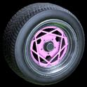 Falco wheel icon pink