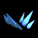 Stegosaur topper icon cobalt