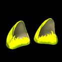 Wildcat ears topper icon saffron
