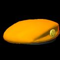 Beret topper icon orange