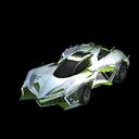Chikara GXT body icon lime