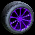Dieci wheel icon purple