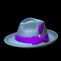 Homburg topper icon purple