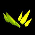 Stegosaur topper icon saffron