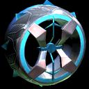 Blender wheel icon sky blue