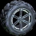 Trahere wheel icon titanium white