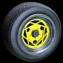 Falco wheel icon saffron