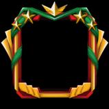 Happy Victory avatar border icon