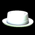 Pork pie topper icon titanium white