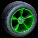 Stern wheel icon forest green