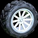 Almas wheel icon titanium white