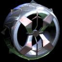 Blender wheel icon grey