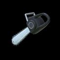 Chainsaw topper icon black